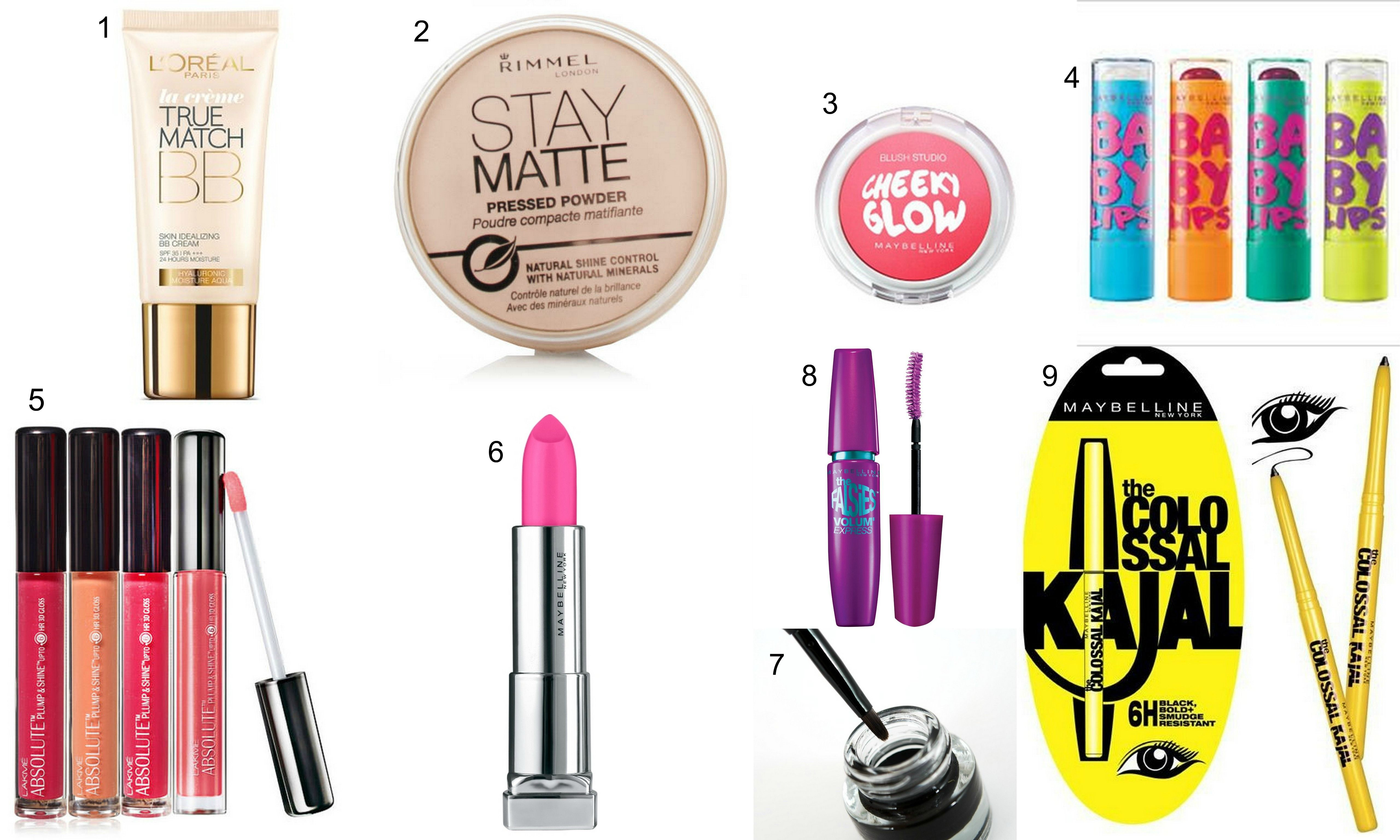 10 Makeup Bag Essential Beginners Makeup essentials