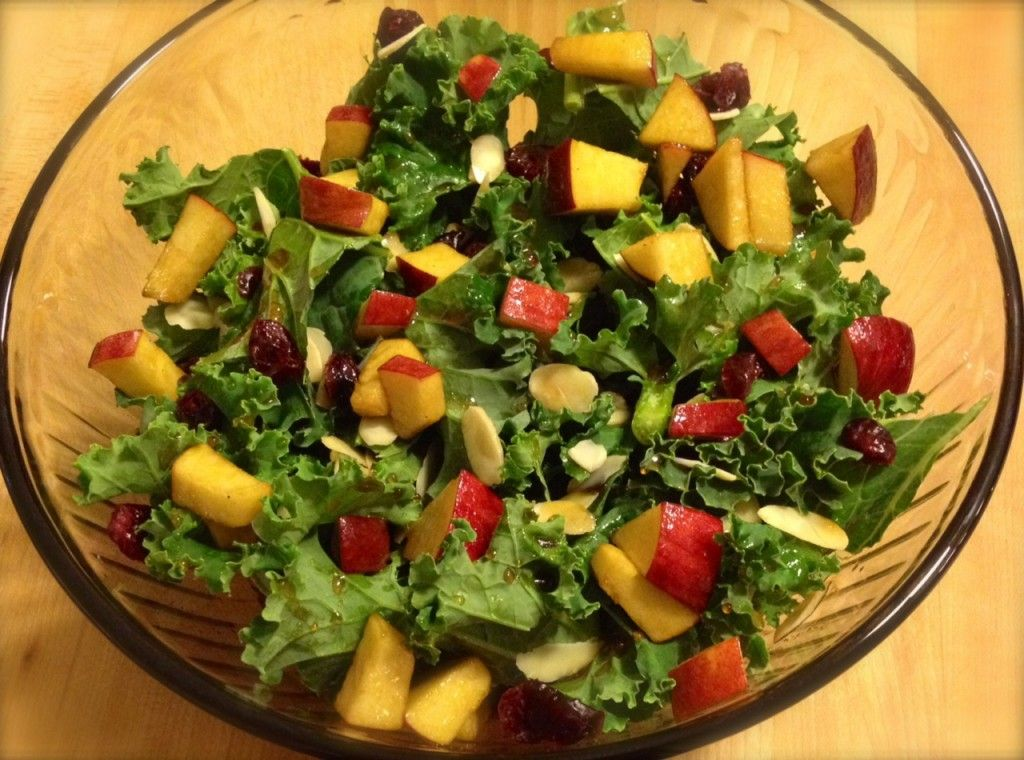 Maple, Apple and Cranberry Salad #healthy #lunch #dinner