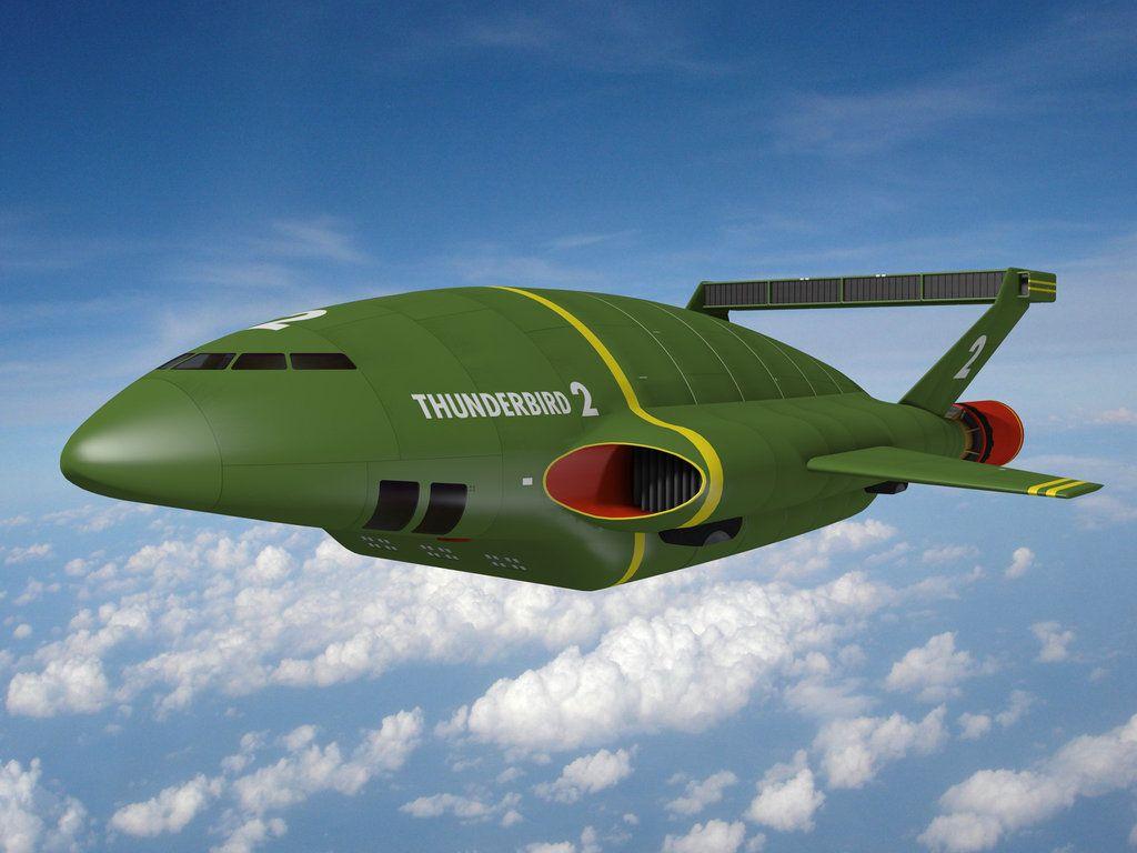 Thunderbird 2 By Gerry Anderson Thunderbirds Are Go