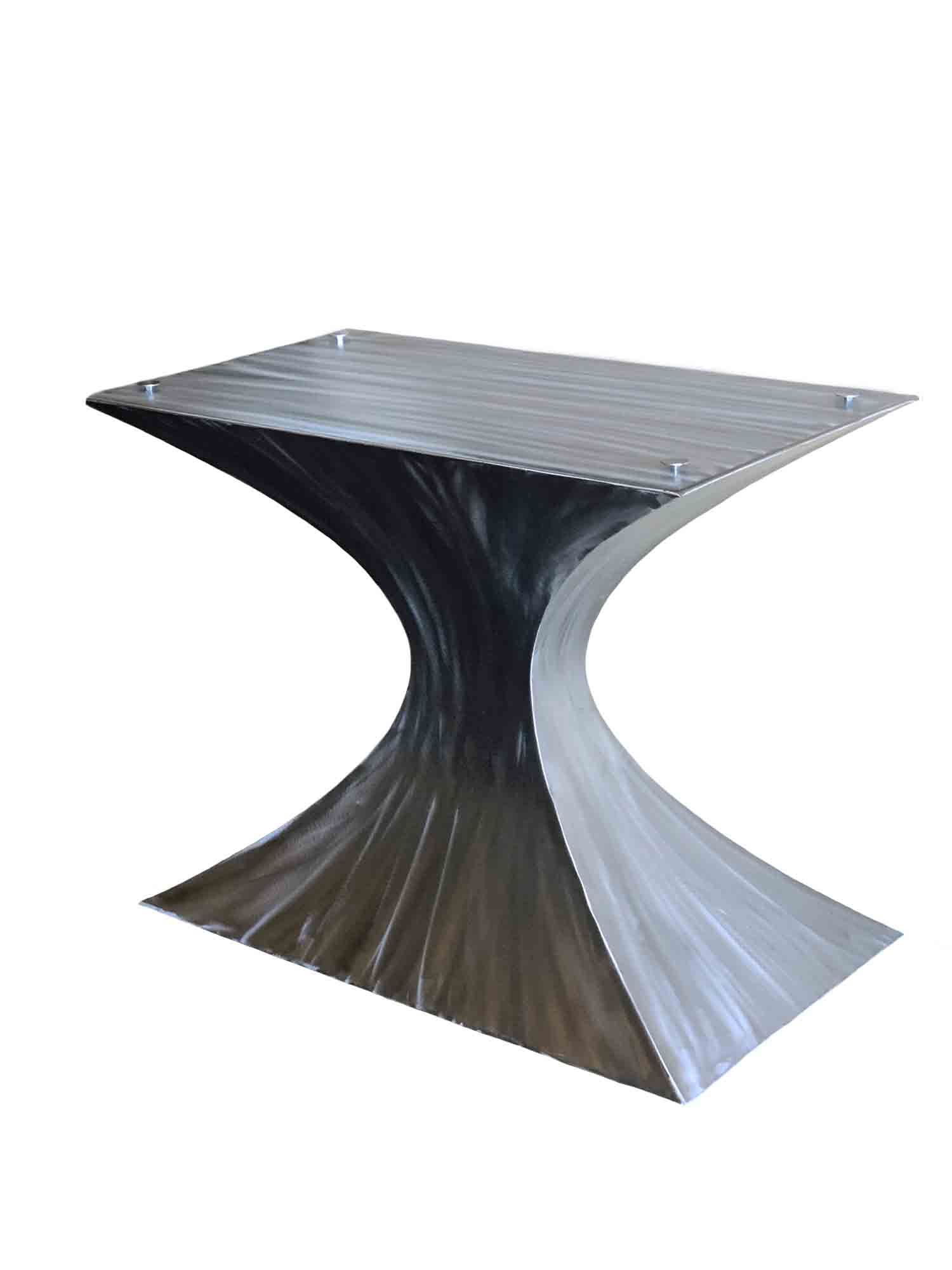 Metal Pedestal Base Hourglass Metal Table Base Metal Table Entryway Tables