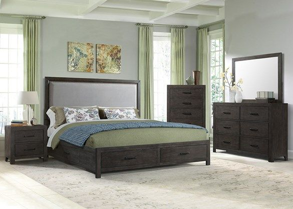 Best Huntington 7 Pc Queen Bedroom The Roomplace With 400 x 300