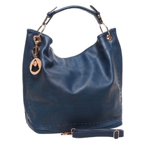 MG Collection AMBRÉ Blue Large Shopper Tote Style Slouchy Hobo Shoulder Bag MG Collection http://www.amazon.com/dp/B00I86LOZ8/ref=cm_sw_r_pi_dp_lcN-ub1QHKG8D