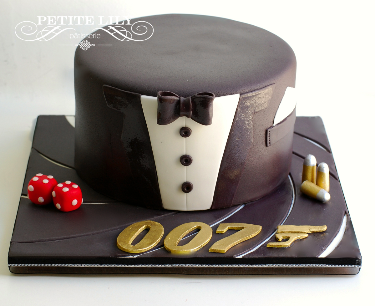 James Bond Cake Bolo Do 007 Decorated Cakes Bolos