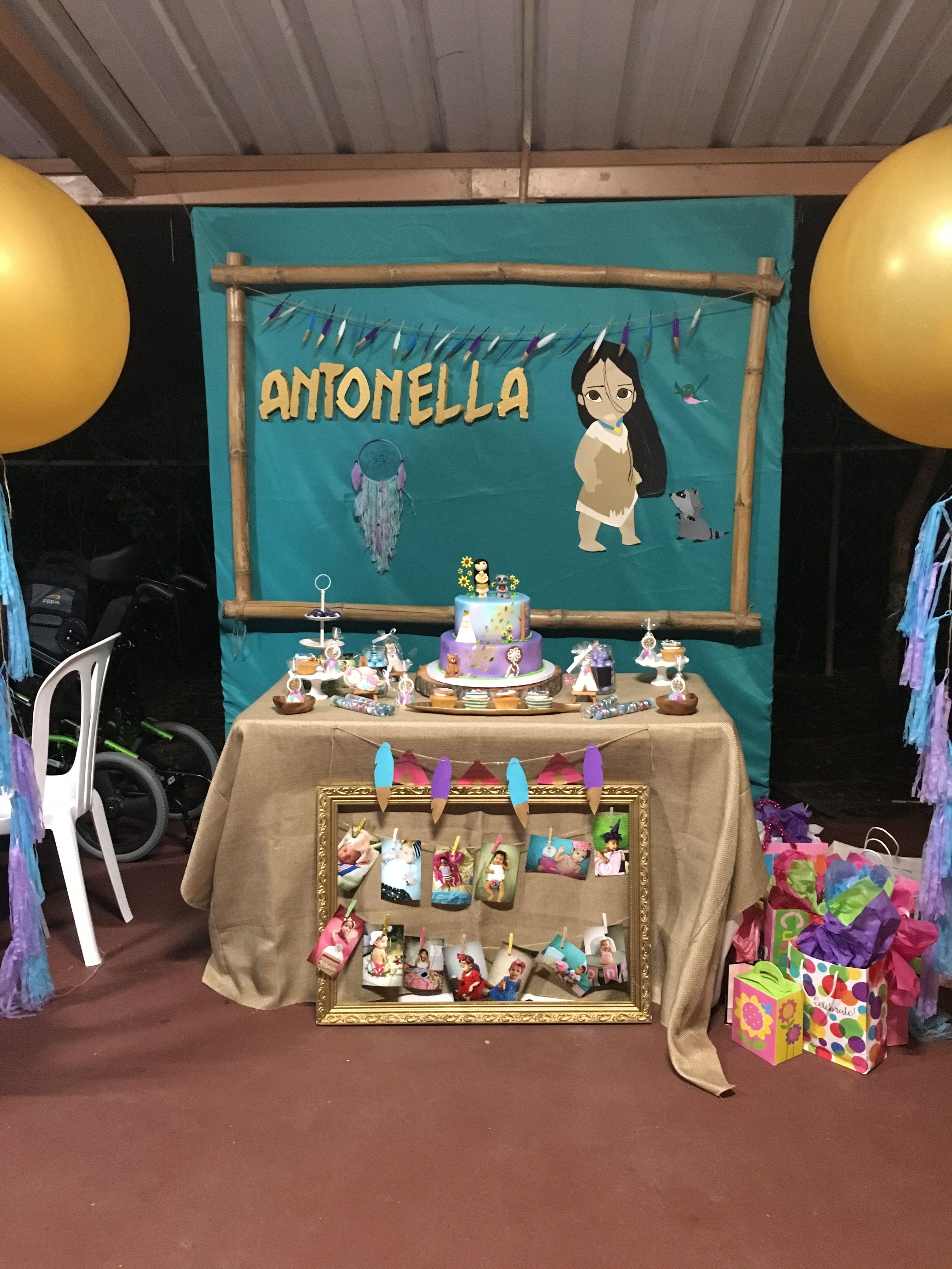 Pocahontas Birthday Decoration Birthday Ideas In 2019 Pocahontas