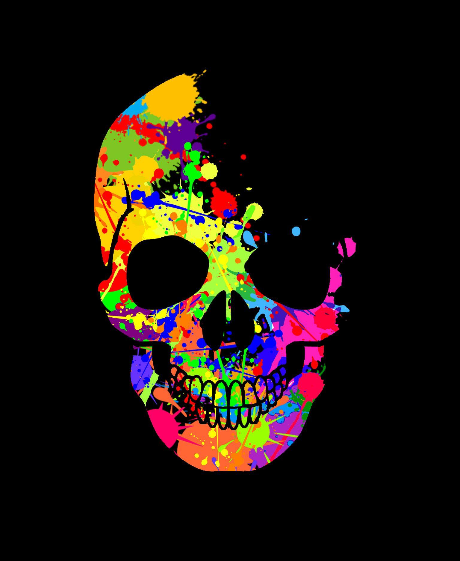 skull-splat.jpg (1536×1872) | Batman | Pinterest ...