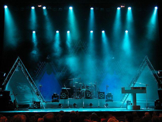 Stage Rock Concert Flood Light Stage Lighting Design Concert Stage Design Concert Lights