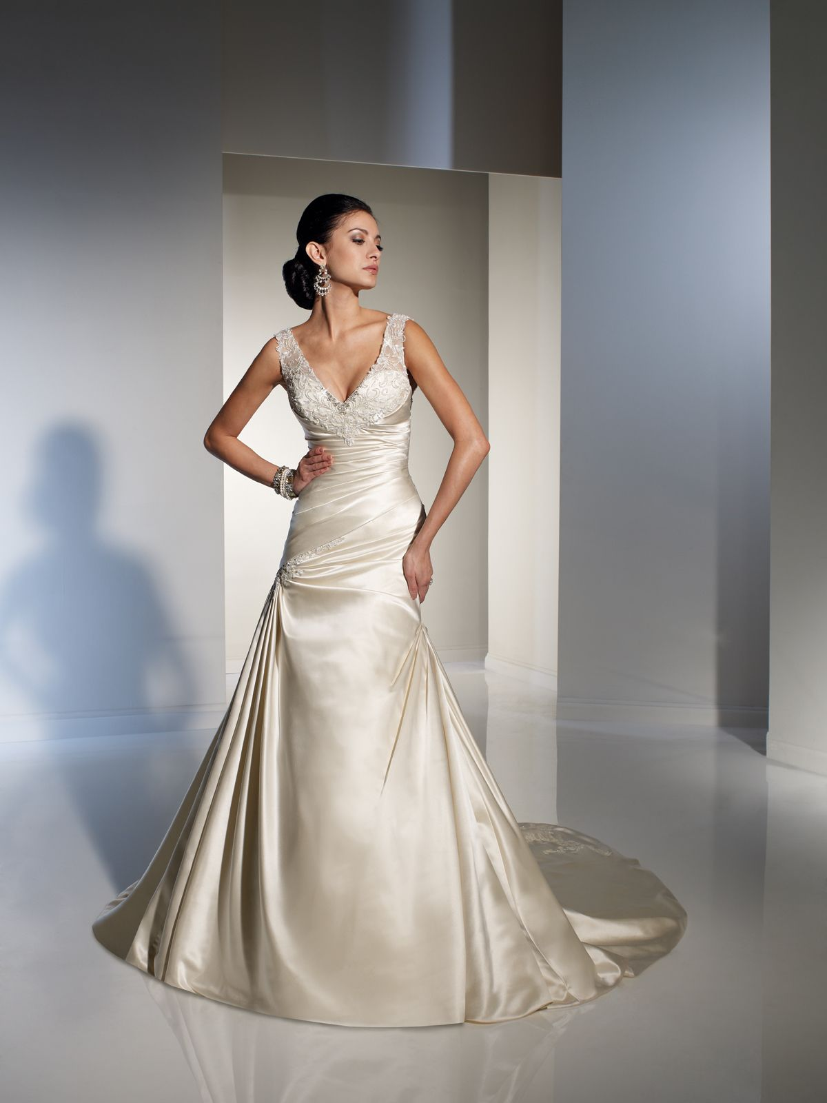 Designer Wedding Dresses by Sophia Tolli   Wedding Dresses style #Y21149 - Abri