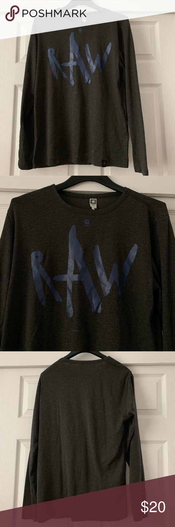 GStar RAW Shirt (With images) G star raw, Long sleeve