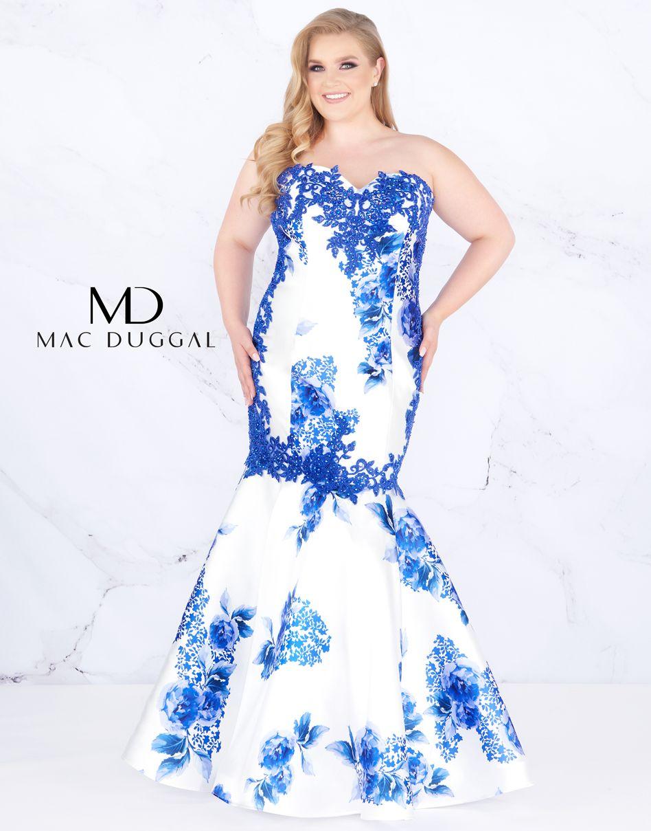 d92f0e55d96 Blue floral print