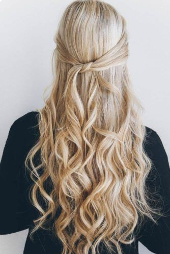 42 Everyday Cute Hairstyles For Long Hair Down Curly Hairstyles Hair Styles Easy Hairstyles