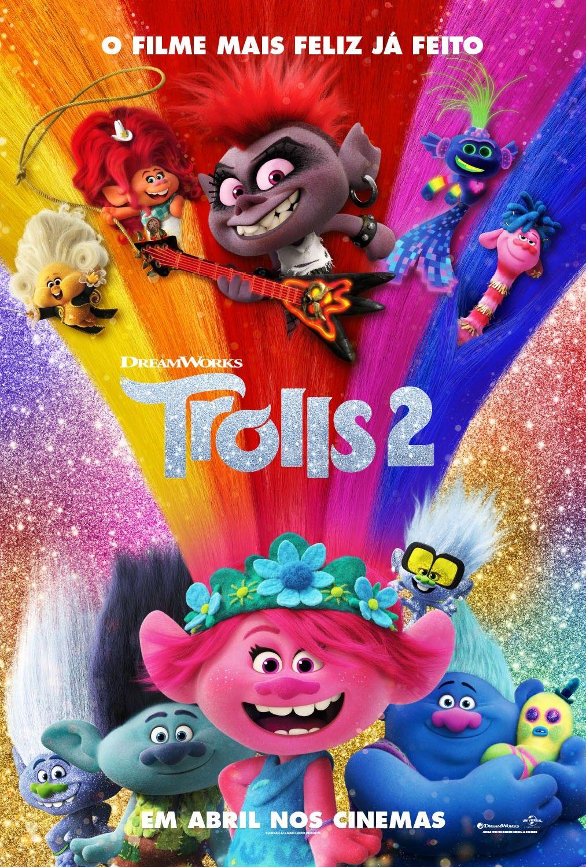 Trolls2 Novo Poster Em 2020 Dreamworks Filmes Filmes Online Gratis