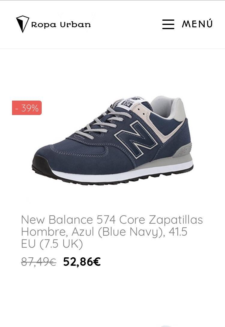 new balance outlet hombre de mujer
