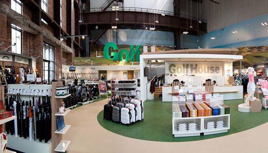 Golf House Hannover Ladenbau Best Practice