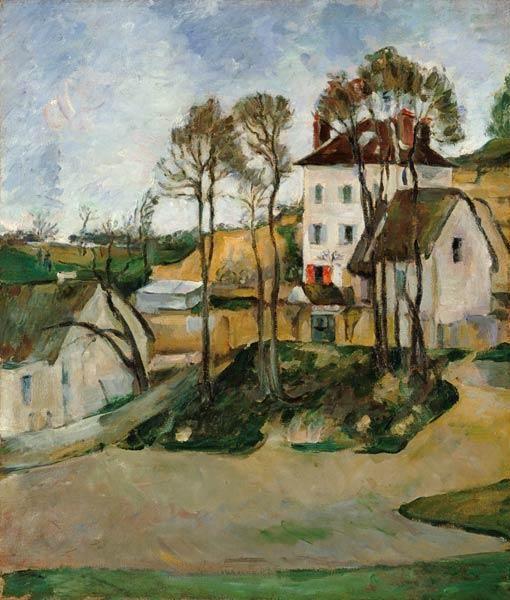 Paul Cézanne - La maison du DrCachet à Auvers.