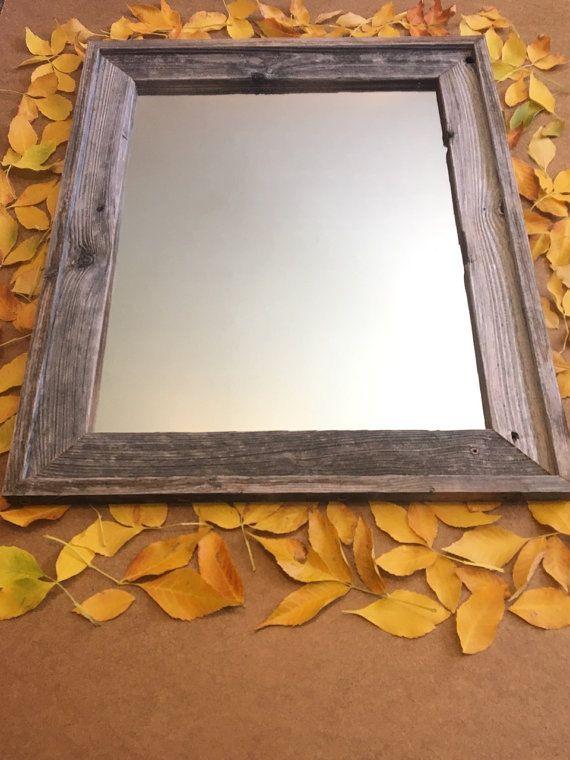 16 X 20 Inch Barn Wood Mirror Barn Wood Wood Mirror And Barn