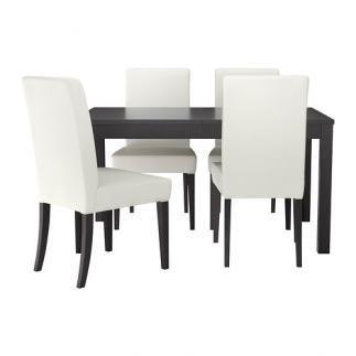 Se vende Mesa con 4 sillas, IKEA SEGUNDA MANO serie BJURSTA ...