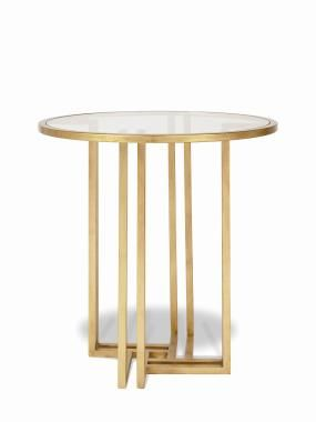 Archive Home and Monarch (MN5509) HARLOW TABLE - GOLD century
