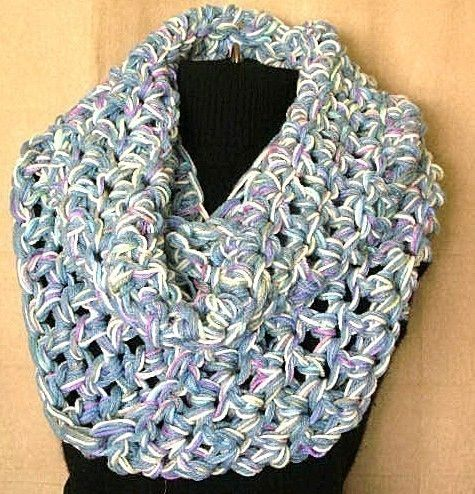 The Biggie Circle Scarf Crochet Pattern Pdf By Timaryart On Etsy