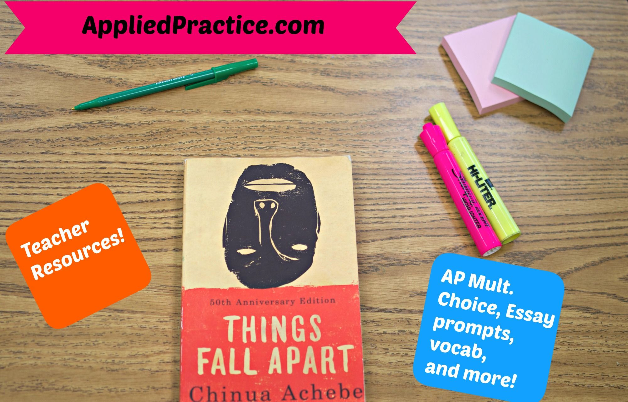 Things Fall Apart Teacher Resources Appliedpractice