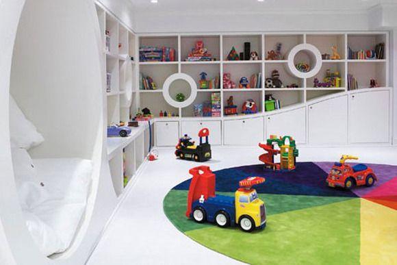 Ideas para decorar un cuarto de juegos para ni os for Ideas para cuartos de ninos