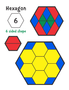 Shapes Pattern Blocks Pattern Block Templates Pattern Blocks