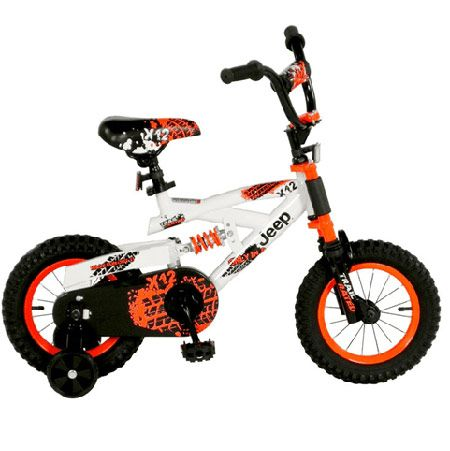 Jeep Bicycle White Kids This Jeep X 12 Kids Bike Is The Latest Dual Suspension 12 Inch Bicycle Jeep Merchandise Jeep Gear Jeep Stroller