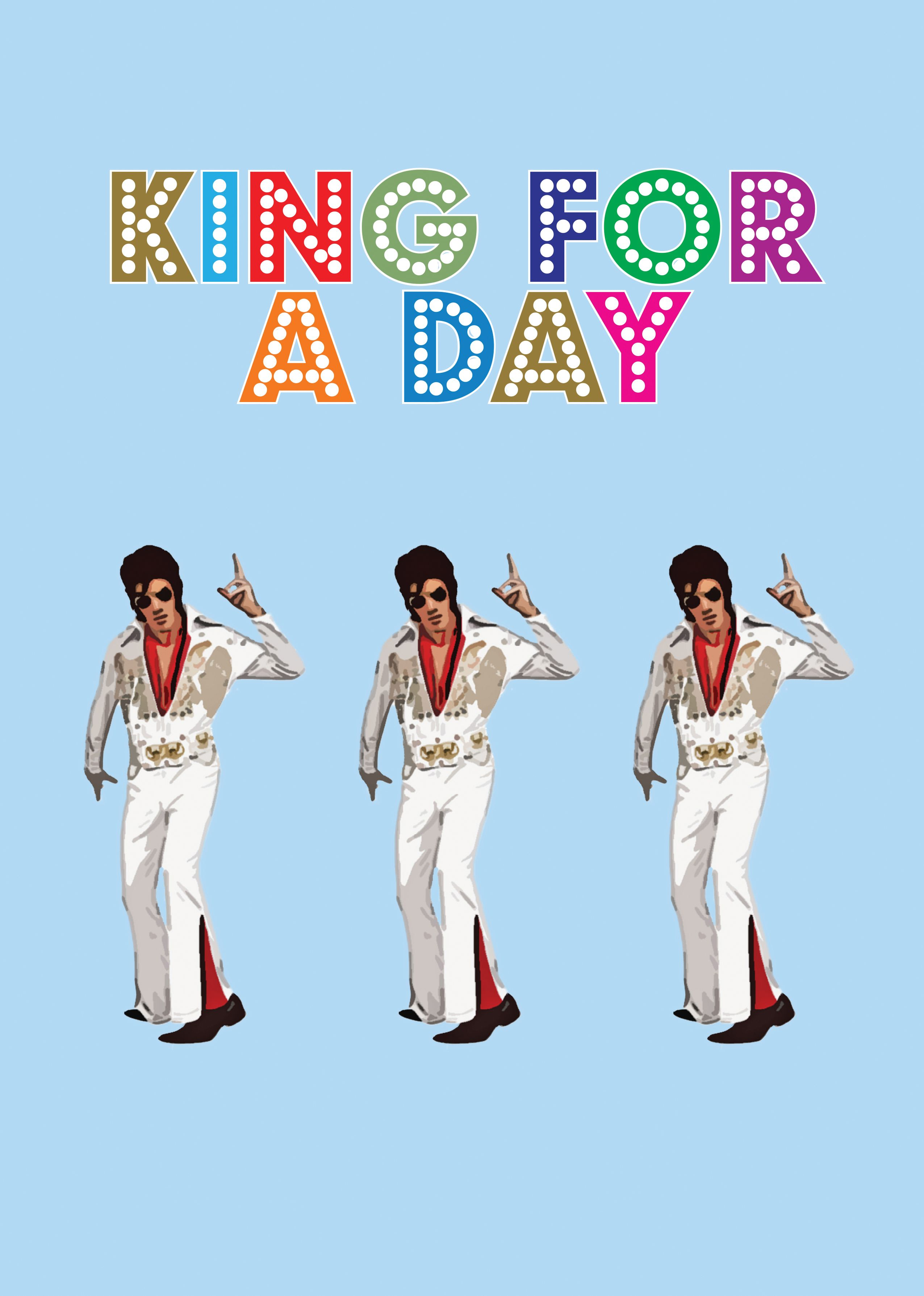 This fatherus day make your dad king for a day not just a