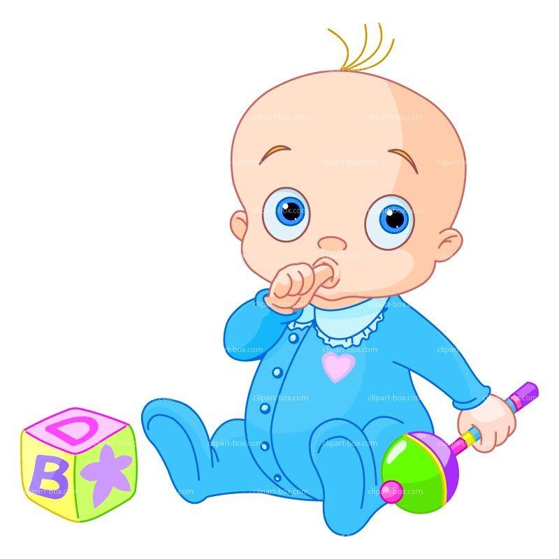 Girl Toys Clip Art : Baby christmas clipart boy with toys