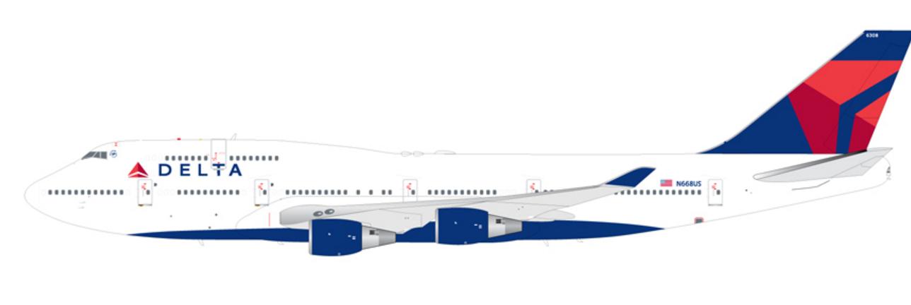 Resultado de imagen para Boeing 747-400 Delta png