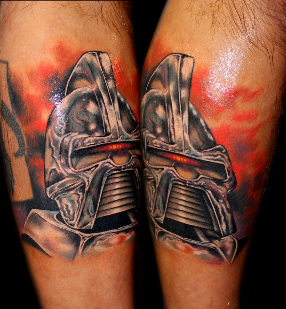 Battlestar galactica cylon tattoo by chris 51 of area 51 for Battlestar galactica tattoo