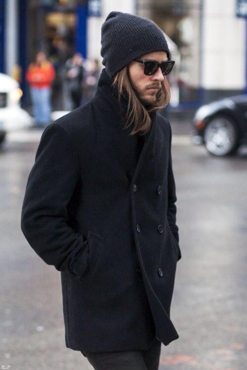 beanie coat men style