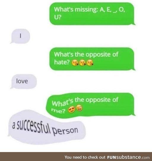 A suCcEsFul peRsON - FunSubstance