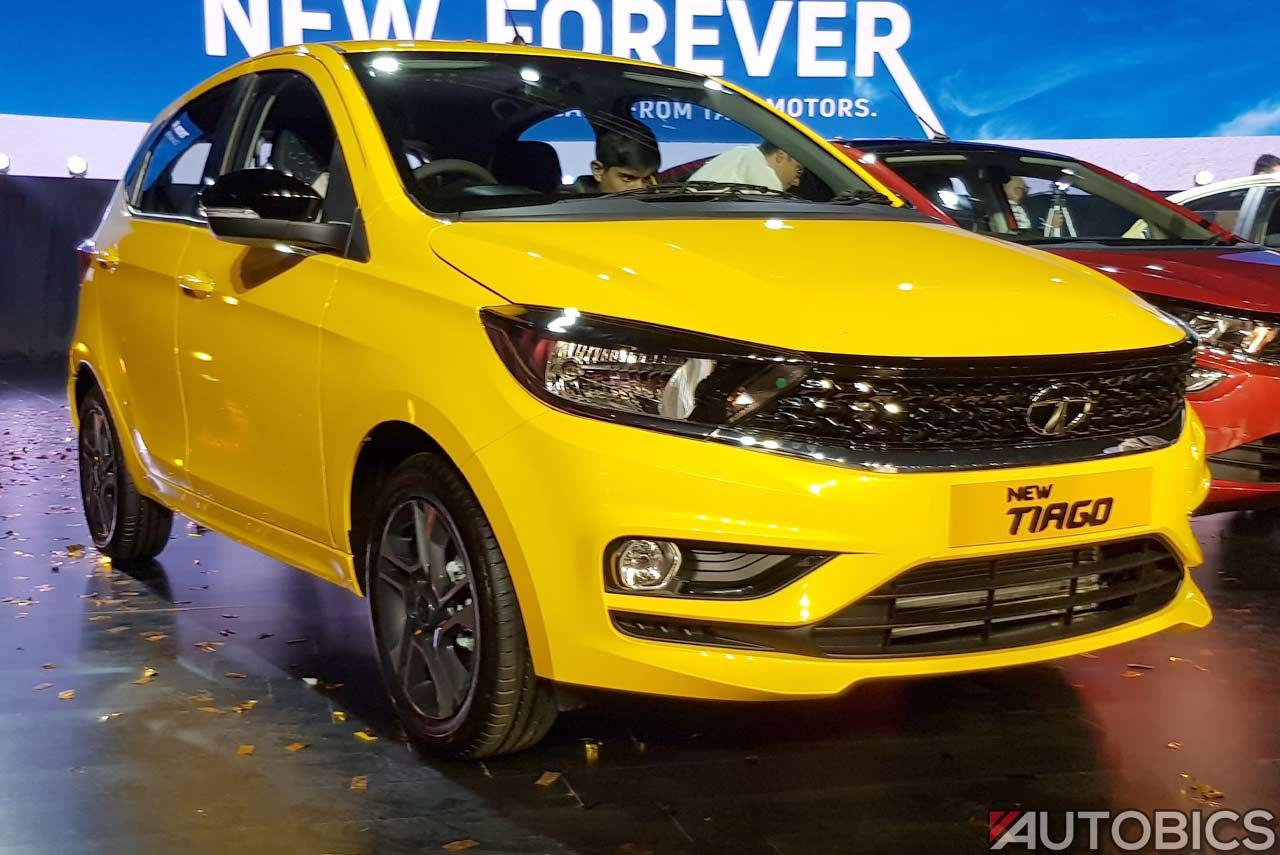 2020 Tata Tiago Launched in India; Priced from INR 4.60