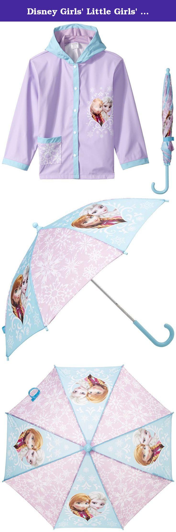 disney girls u0027 little girls u0027 fantasia frozen elsa umbrella raincoat