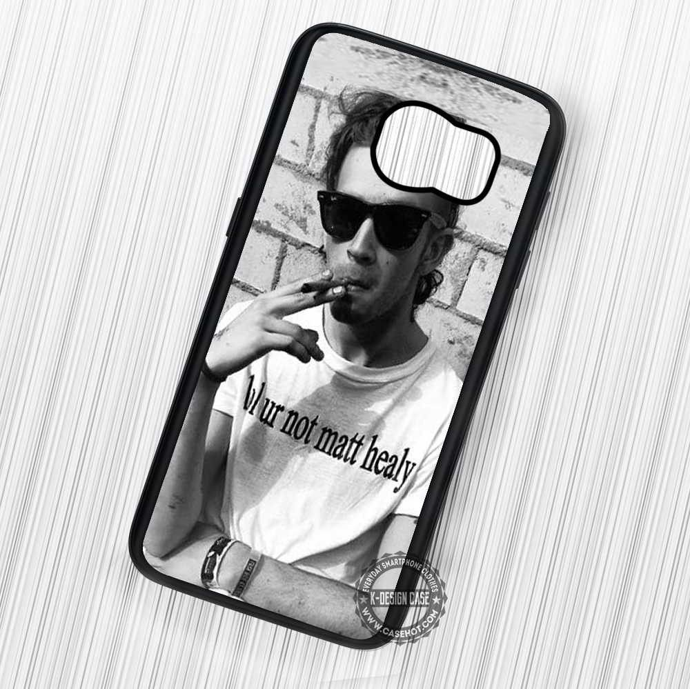 The 1975 Matt Healy With Lol Ur Not Shirt - Samsung Galaxy S7 S6 S5 Note 7 Cases & Covers