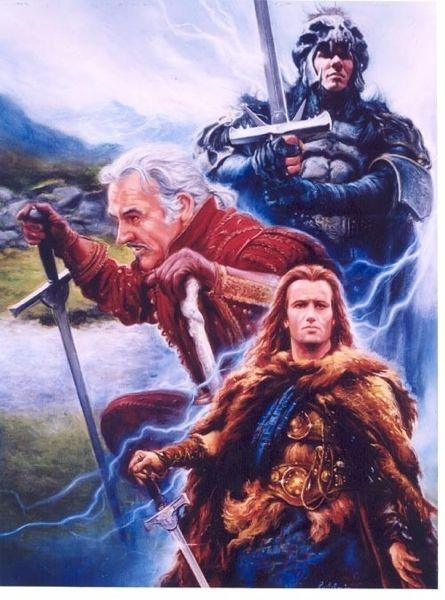 Highlander There Can Be Only One Highlander Movie Highlander Movie Art