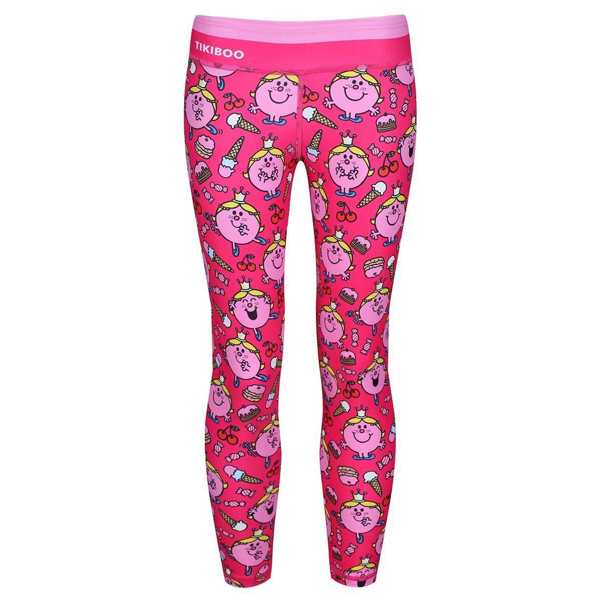 d882dde3bc58c Little Miss Princess Kids Pink Leggings in 2019   Tikiboo x Mr Men ...