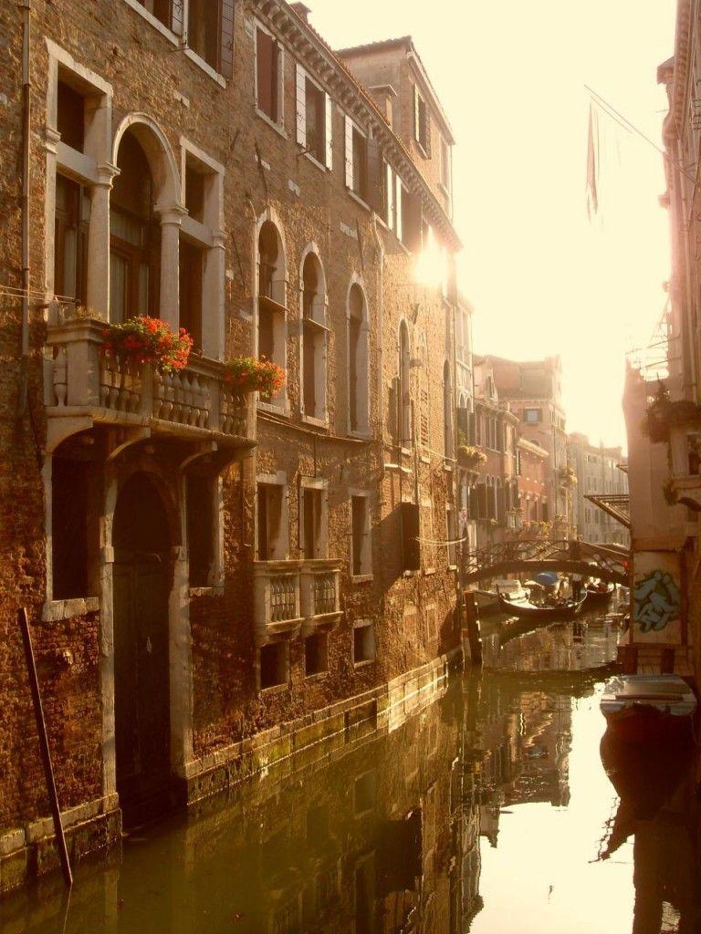 The lagoon city of Venice
