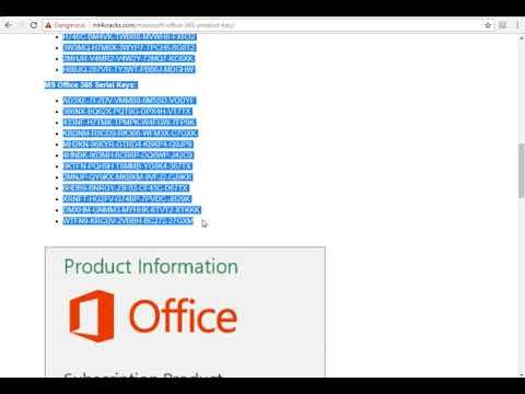 microsoft office 365 product key does not work
