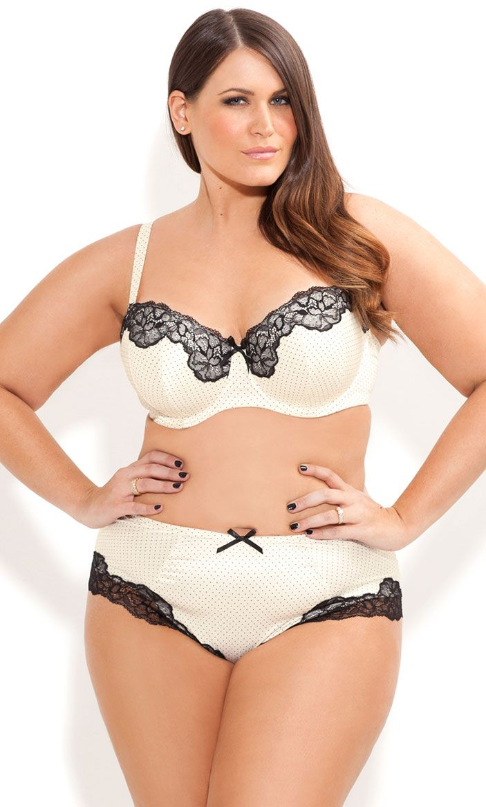 City Chic - MAYFAIR BRA SHORTY - Women's plus size fashion
