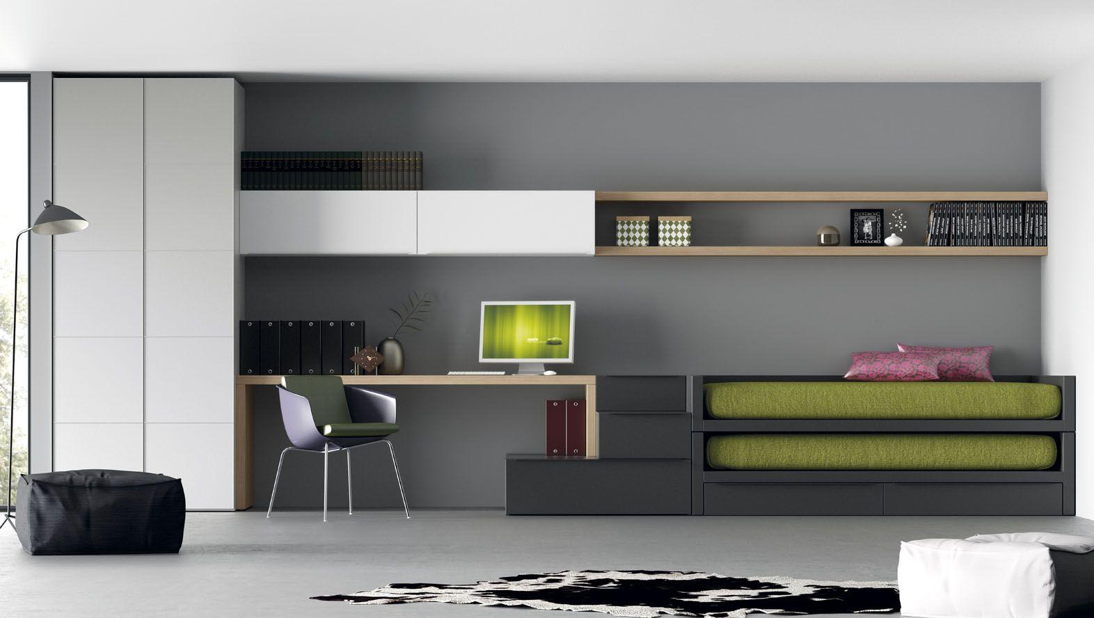 Dormitorios juveniles catlogo infinity muebles jjp camas for Muebles juveniles de calidad