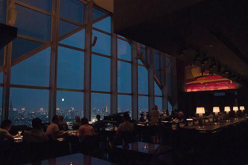 New York Bar at Park Hyatt Hotel// visitar el hotel de lost in translation