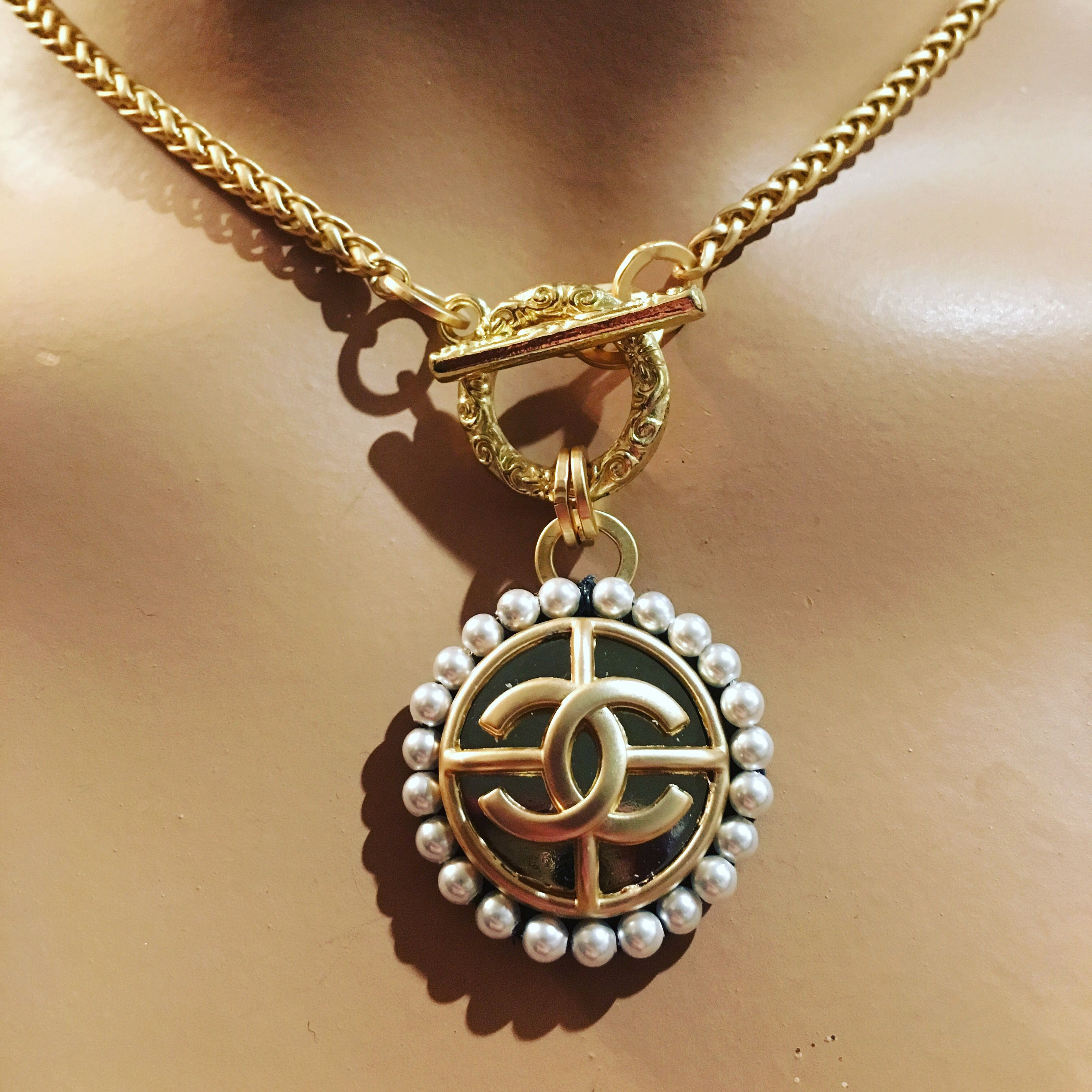 Oh God Wow Chanel Chanel Pendant French Inspired Jewelry