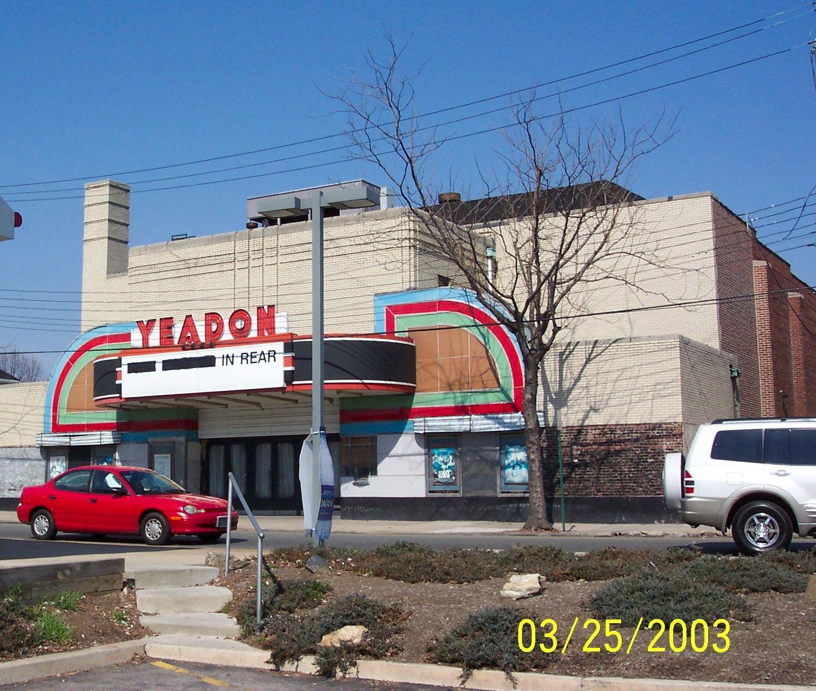 Yeadon Theater Yeadon Pa Movie Theater Childhood Memories Theatre