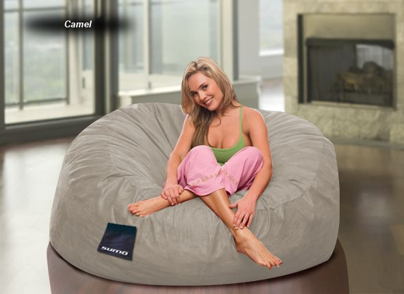 Astounding Sumo Sultan Microsuede Ideas For Caiti Big Bean Bag Bralicious Painted Fabric Chair Ideas Braliciousco