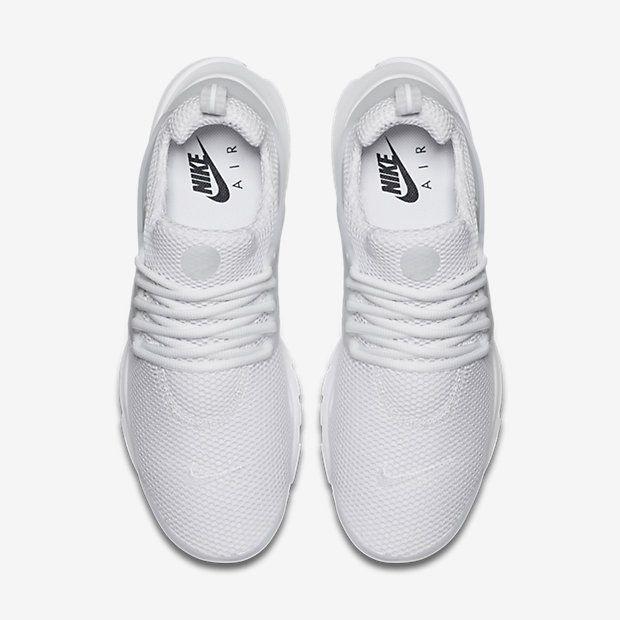 Nike Air Presto Men's Shoe. All White ...
