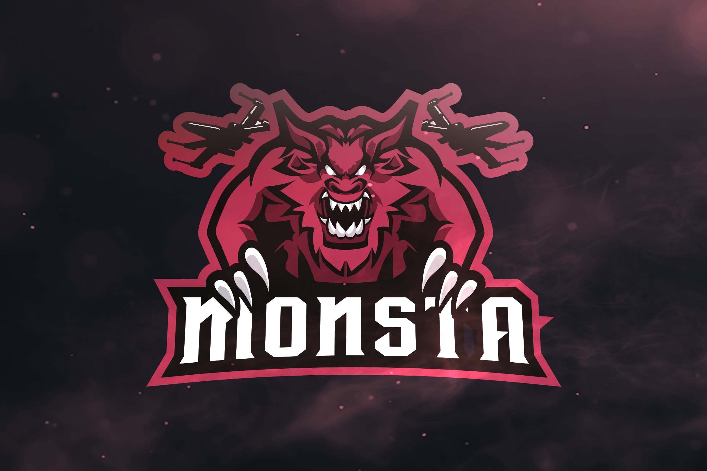 Monsta Sport and Esports Logo (With images) Esports logo