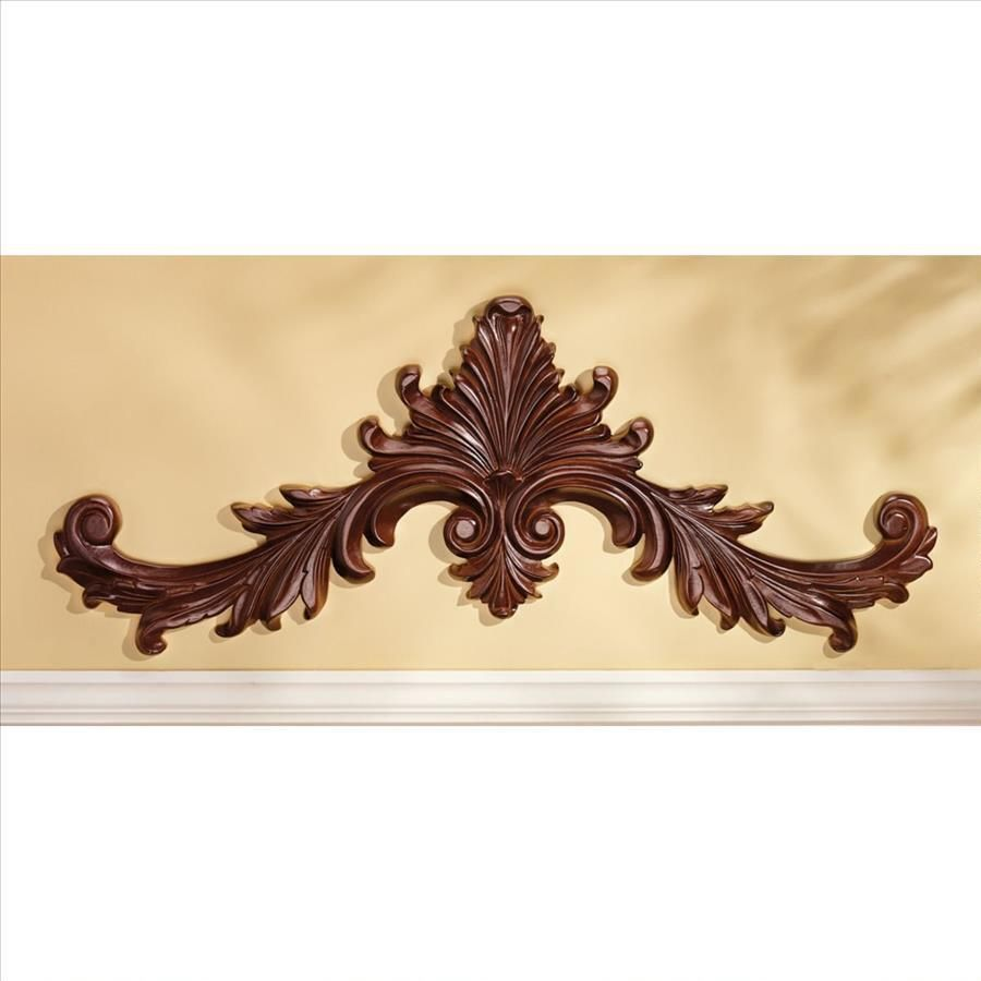 Generous Rectangular Carved Wood Wall Decor Pictures Inspiration ...