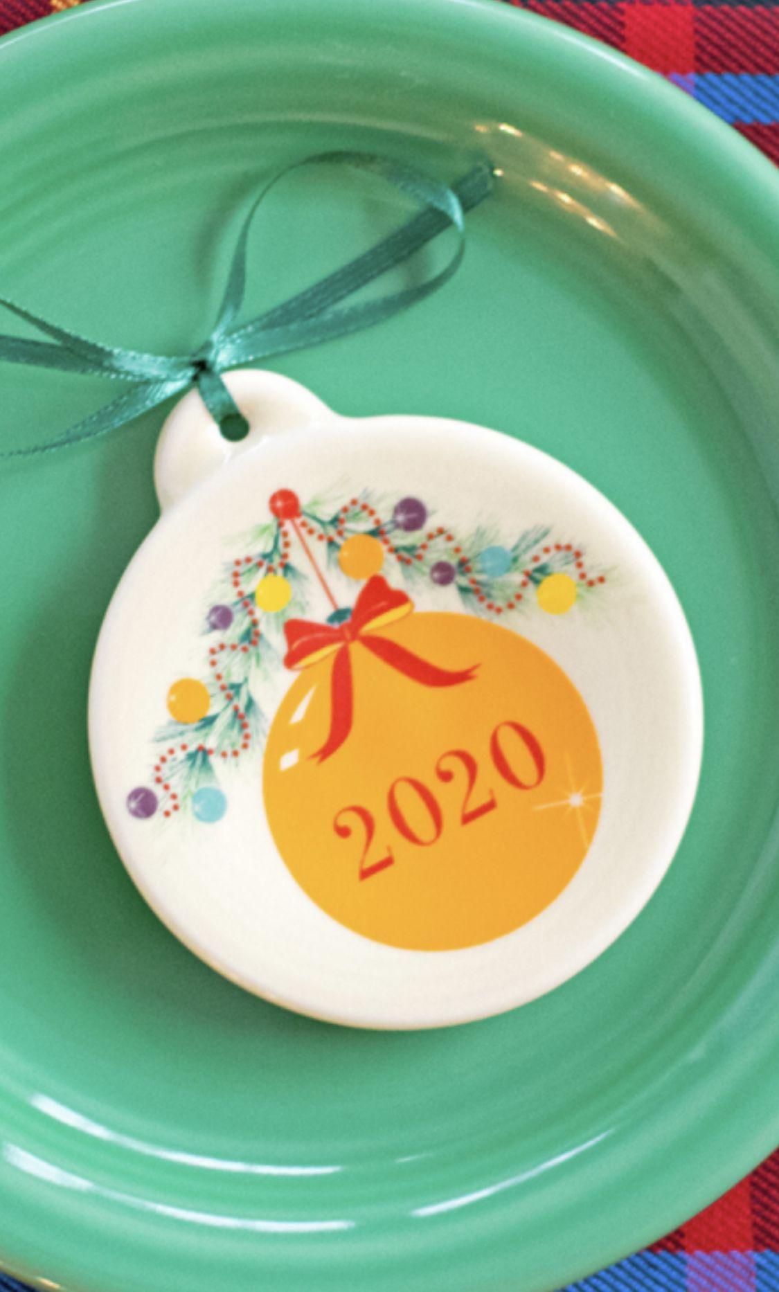 Fiesta 2020 Christmas Ornament Fiesta Christmas Tree Ornament 2020 in 2020 | Fiesta dinnerware