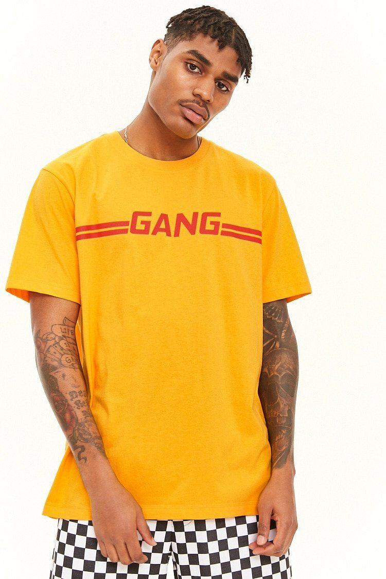 27b86a4ee Gang Graphic Tee in 2019 | forever 21 | men | Graphic tees, Men ...